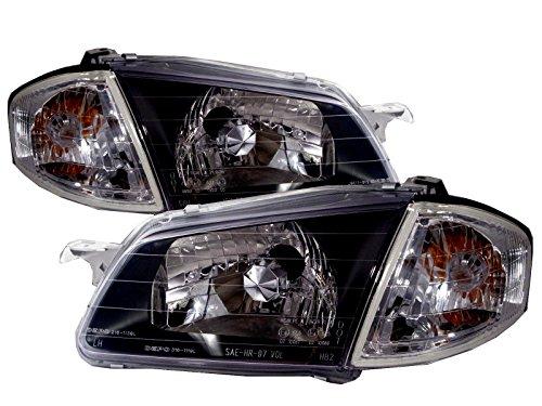 CABI BJ 323 1998 2000 Eighth generation - Sedan Wagon 4D/5D Clear Headlight Headlamp for MAZDA LHD