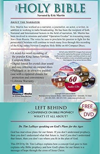 King james Version Audio Bible on 60 CDs-Plus Free Audio Bible, a 2nd  Complete Audio Bible Free on MP3 Discs-Plus Free Tim LaHaye speaking on  God's