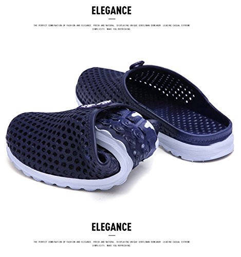 Garden Men Clog slip Anti Water Footwear Shoes Badier Slippers Blue Women Shower OEwqxOC
