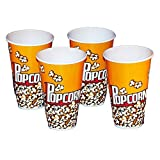 Popcorn Containers - Set of 4 Individual Size 7 Tall Tubs