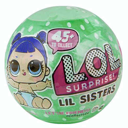 Lol Surprise  Lil Sisters Series 2 Lets Be Friends Mystery Pack Wave 2
