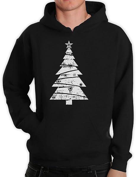 Albero Di Natale Java.Albero Di Natale Grande Colore Bianco Anticato Con Cappuccio