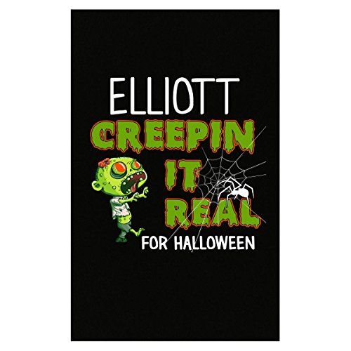 Prints Express Elliott Creepin It Real Funny Halloween Costume Gift - Poster -