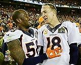 Von Miller Peyton Manning Denver Broncos Super Bowl 50 Photo (Size: 8' x 10')