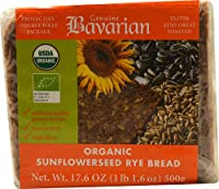 Genuine Bavarian Organic Sunflowerseed Rye Bread -- 17.6 oz