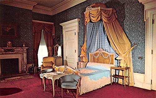 (Blue Room Hyde Park, New York Postcard)