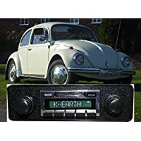 1968-1985 Volkswagen Bug Beetle USA-630 II High Power 300 watt AM FM Car Stereo/Radio with iPod Docking Cable