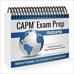 CAPM Exam Prep Flashcards (PMBOK Guide, 5th Edition