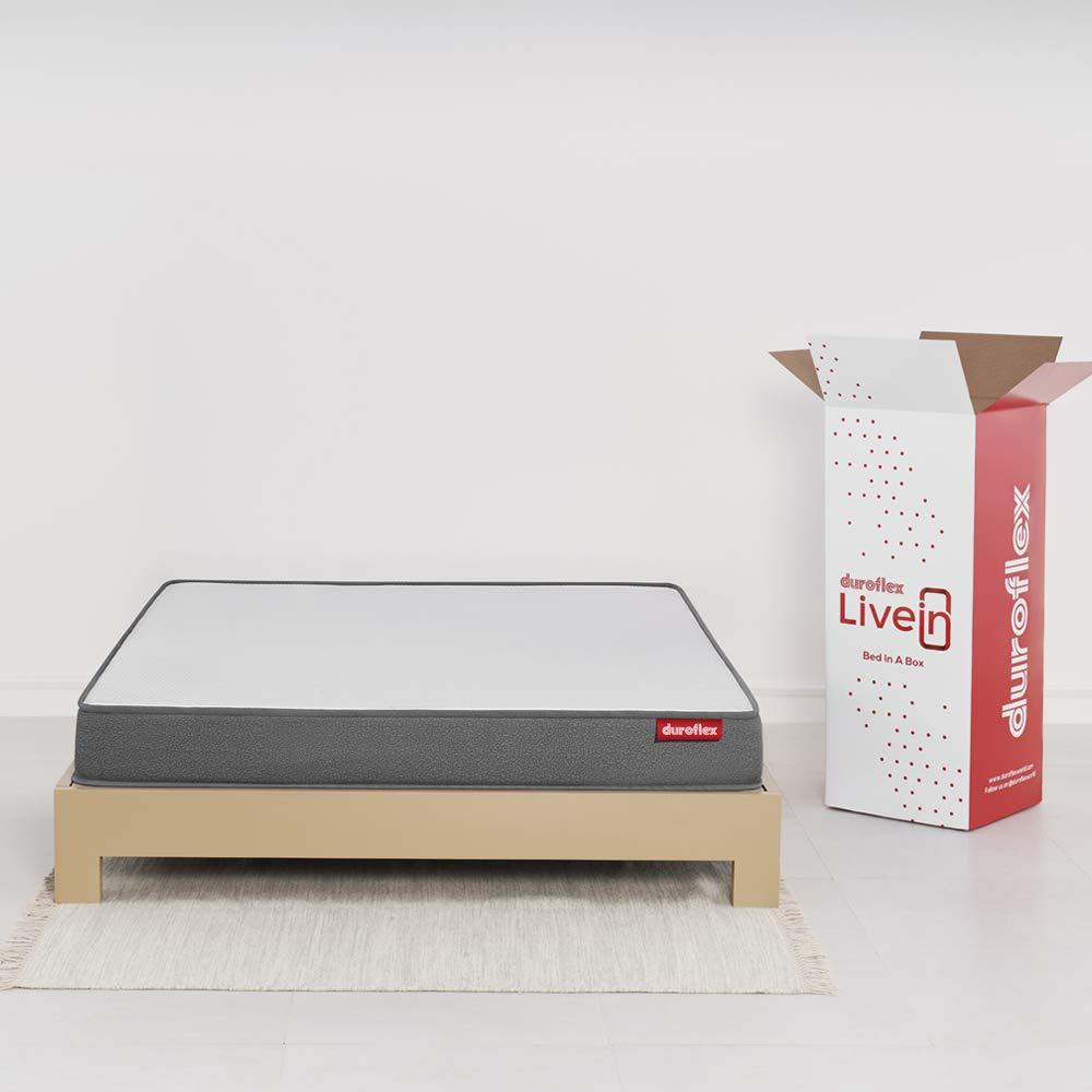 6.Duroflex LiveIn - King-Size Medium Firm Mattress