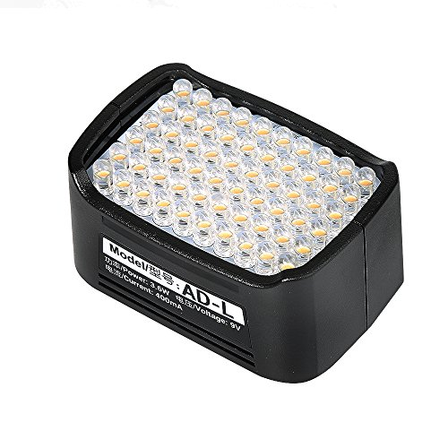 Godox AD-L LED Light Head Dedicated for Godox AD200 Pocket Flash (60pcs Led Beads) by Godox