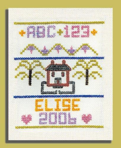 (Harrisville Designs Cross Stitch Sampler)