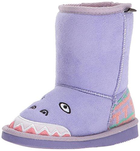 MUK LUKS Girls Cera Dinosaur Boots