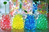 LOVOUS 3000 Pcs Water Beads, Crystal Soil Water Bead Gel, Wedding Decoration Vase Filler - Furniture Decorative Vase Filler, All Occasion Table Centerpiece Decorations (Yellow)