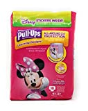 Health & Personal Care : Huggies Pull-Ups Training Pants for Girls 4T-5T (38-50 lbs) Learning Designs all around protection day & nigth, 2 unique Minnie & McStuffins Designs FREE STICKERS, 18 Count (Pack of 2)