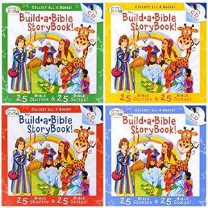 Wonder kids my build a bible storybook cd for Build storybook