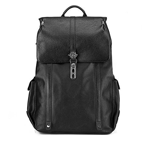 Meoaeo Doppel Schulter Computer Rucksack, Reisetasche, Geschäftsmann black