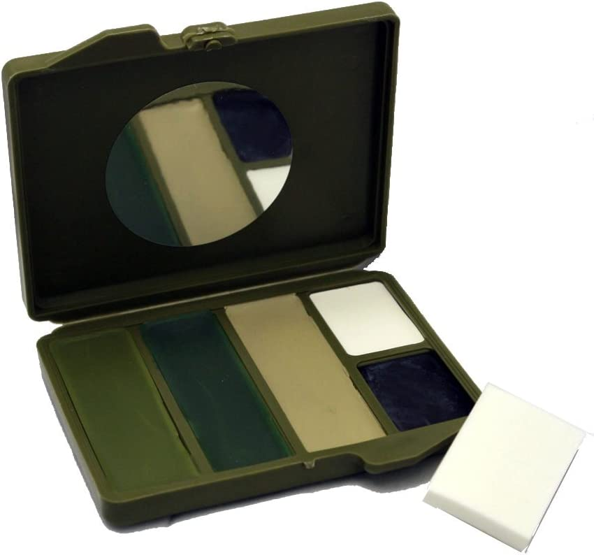 Bobbie Weiner 5 Color Face Paint Kit, Camouflage