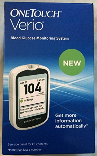 Onetouch Verio Blood Glucose Monitoring System - Buy Packs and SAVE (Pack of 4)