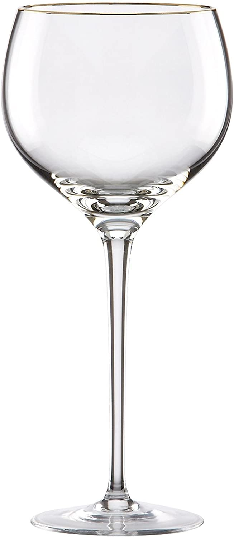 Clear Lenox Eternal Gold Signature Goblet