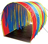 Pacific Play Tents 95100 Kids Tickle Me 9.5-Foot Giant Institutional Crawl Play Tunnel, 9.5'' x 5.5' x 6'