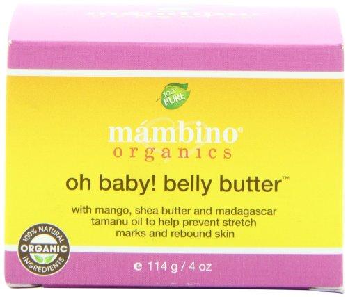 Mambino Organics Oh Baby! Beurre de ventre - 4 oz