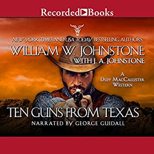 Ten Guns from Texas Audiobook
