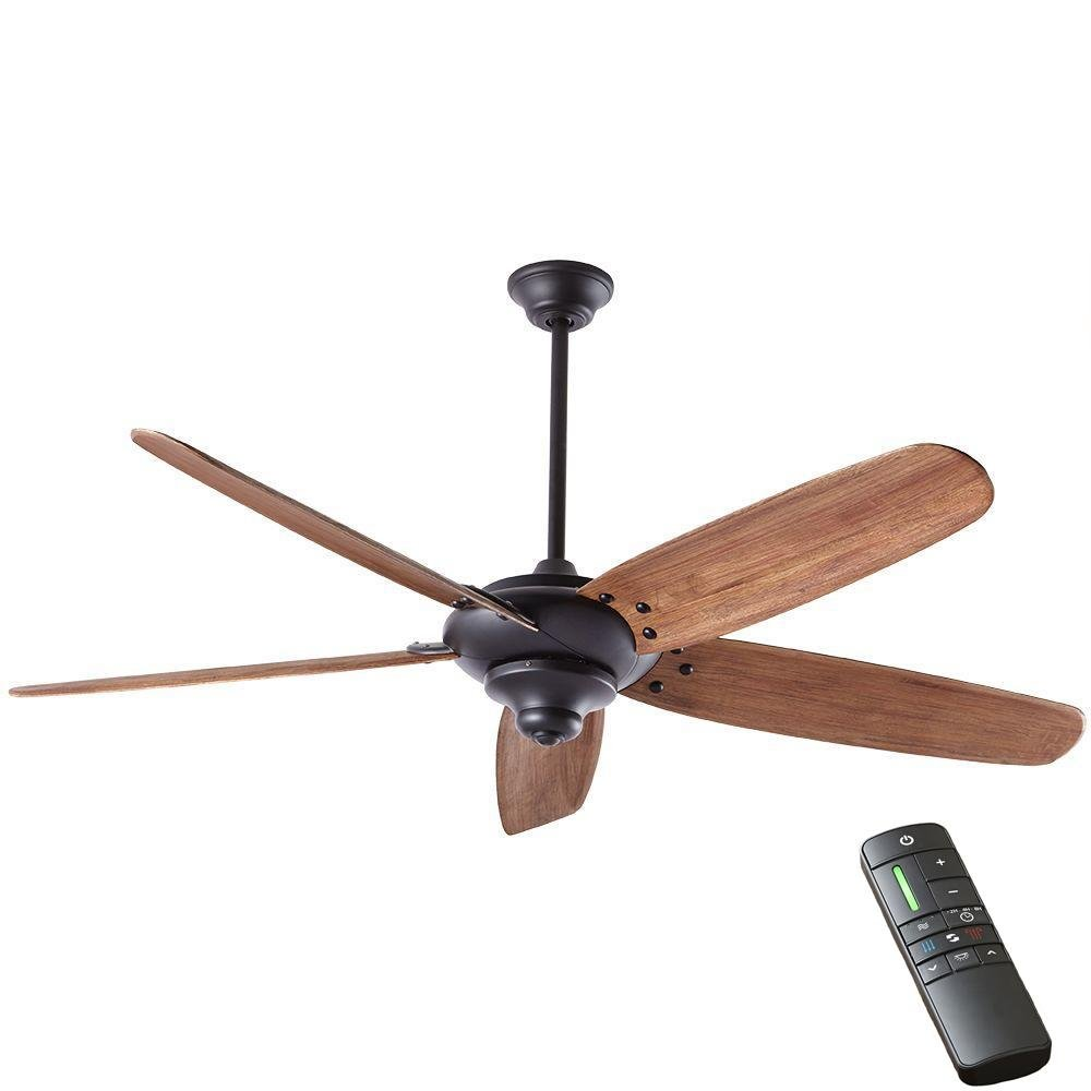 Home Decorators Collection Altura DC 68 in. Indoor Matte Black Ceiling Fan