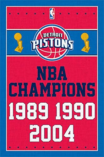 fan products of Trends International Detroit Pistons Champions Wall Poster 22.375