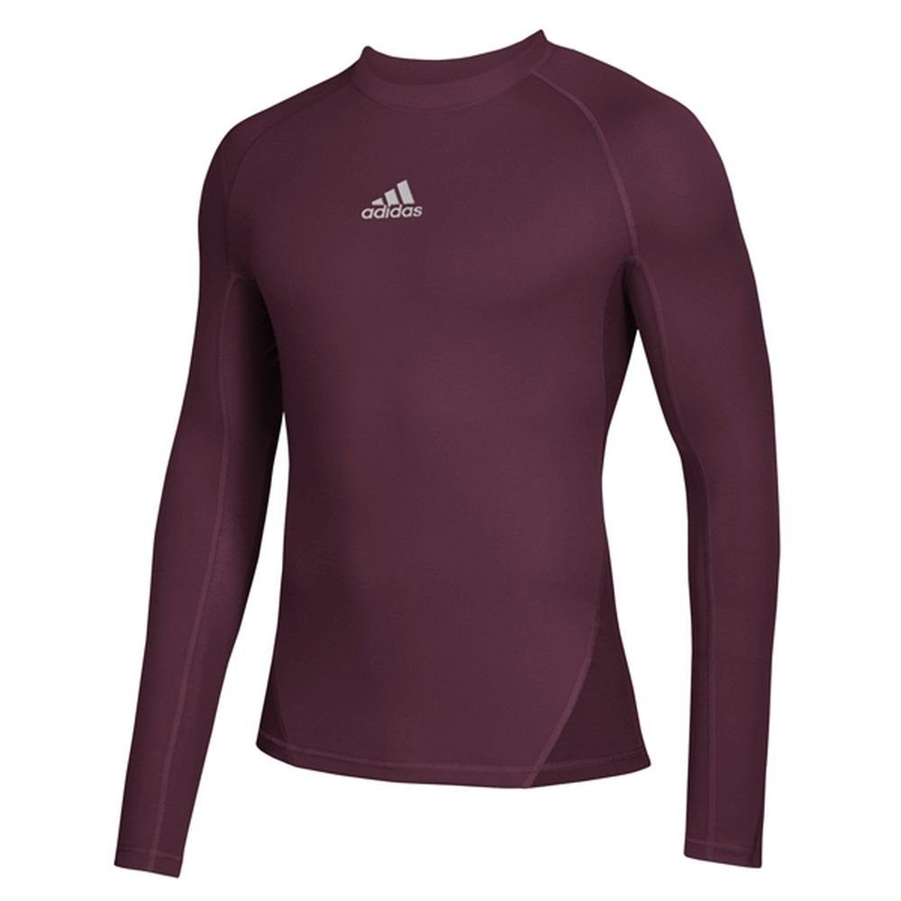 promo code 5adae 762cb Amazon.com  adidas Soccer Alphaskin Sport Long Sleeve Climawarm Tee  Sports    Outdoors
