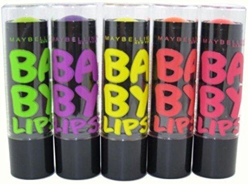 Maybelline New York Baby Lips Moisturizing Lip Balm Set, Ele