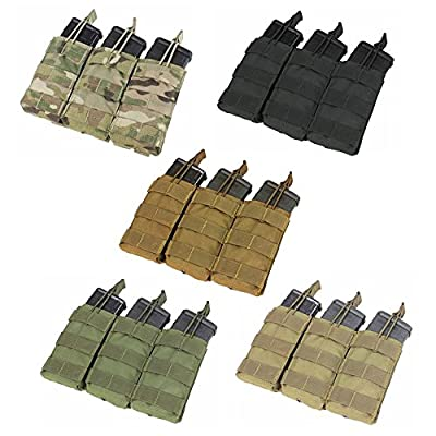 CONDOR Tactical Triple M4/M16 Open-Top Mag Pouch
