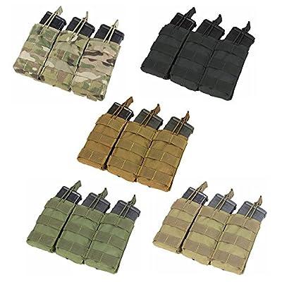 CONDOR Tactical Triple M4/M16 Open-Top Mag Pouch