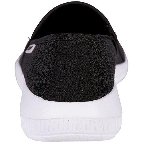 Kappa Damen Cosy Sneakers Schwarz (1110 BLACK/WHITE)