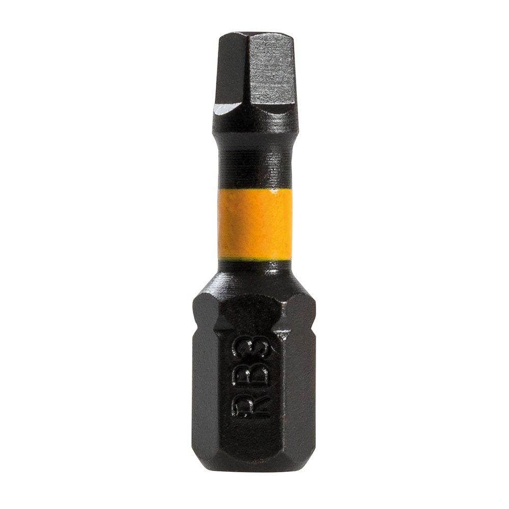 0 V Negro Triton TPTA51821010 Puntas T30 para atornillador de impacto 50 mm Set de 3 Piezas