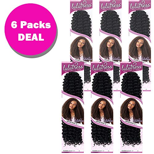 (Sensationnel Lulutress Synthetic Crochet Braid - WATER WAVE 18