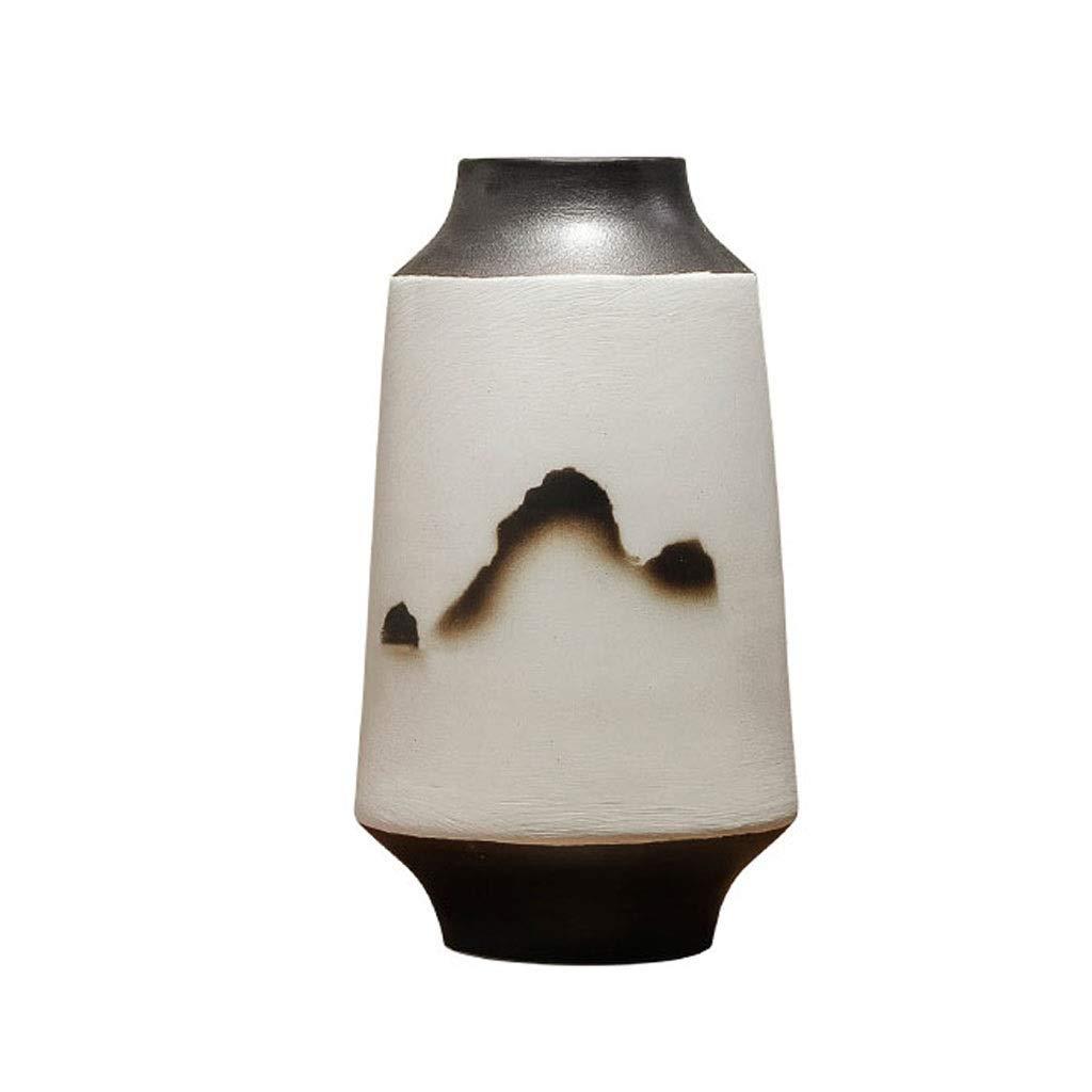 新しい中国の陶製の花瓶、フラワーアレンジメント、フラワーデコレーション、装飾品 LQX B07QXVMS67