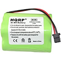 HQRP 2200mAh Battery for Uniden BEARCAT BC245 BC245XLT UBC245XLT BC250 BC250D BC296 BC296D Scanner plus HQRP Coaster