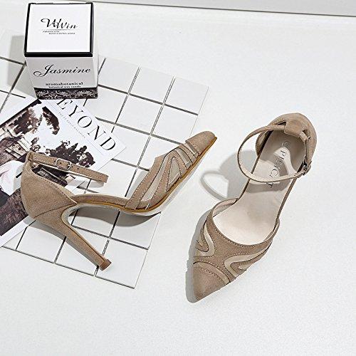 black UE femeninos zapatos Singles RUGAI 86qI7Oxxw