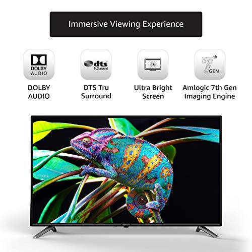 Amazonbasics Fire TV Edition AB32E10SS 32 Inch Smart LED TV