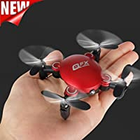 SUKEQ 4-Axis 2.4Ghz 0.3MP HD Camera WiFi RC Mini Drone Q2, Headless Mode Altitude Hold Drone 3D Flip RC UAV
