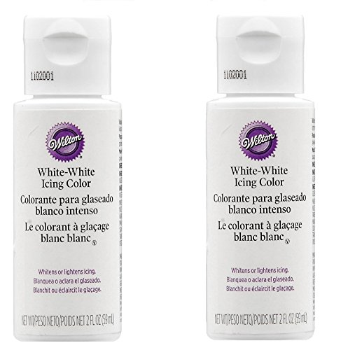 Wilton 603-1236 Liquid Color, 2-Ounce, White