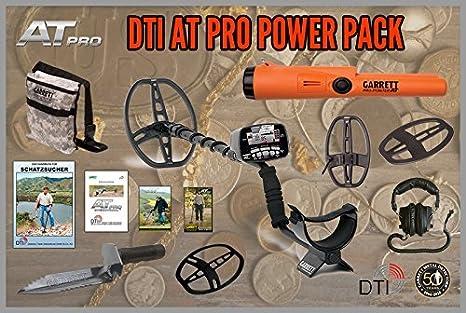Garrett por potencia por paquete minni puntero puedores y 14 x 21 cm sensor detector de metales: Amazon.es: Electrónica