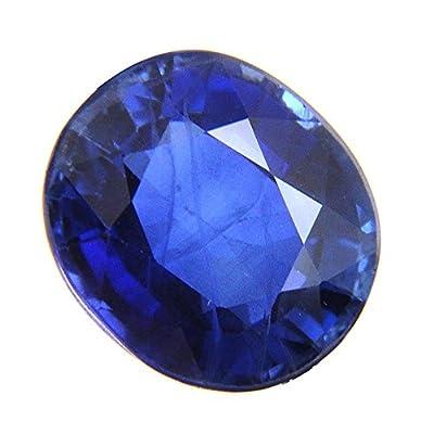 Skyjewels 10.08 Ct Certified Loose Blue Sapphire Neelam Gemstone