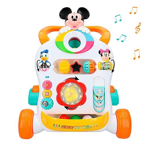 ColorBaby - Carrito andador luz y sonido Mickey Disney ...