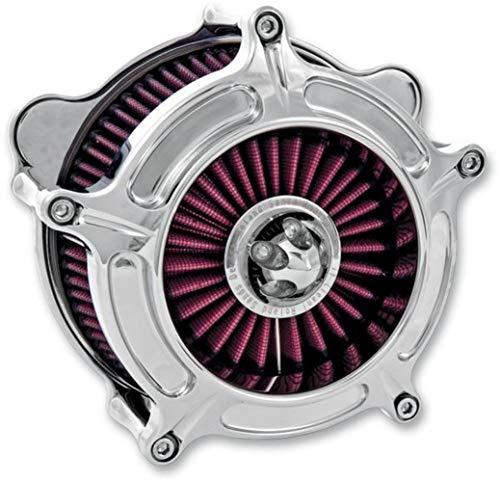 RSD Turbine Air Cleaner Chrome CV/DELPHI for Harley -
