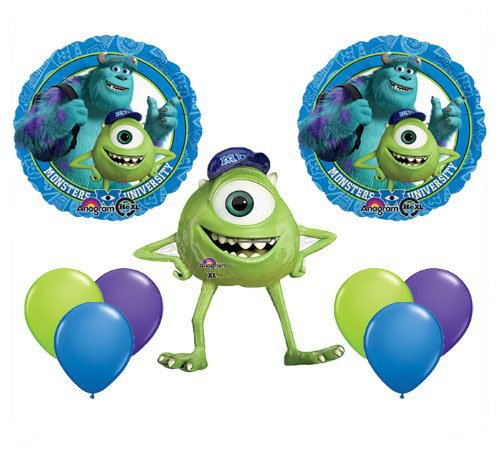 Qualatex Monsters University Mike Jumbo Mylar Balloon Set Birthday Party Decor