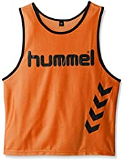 Hummel Fundamental Training - Camiseta de entrenamiento para niños, color neon orange, talla S
