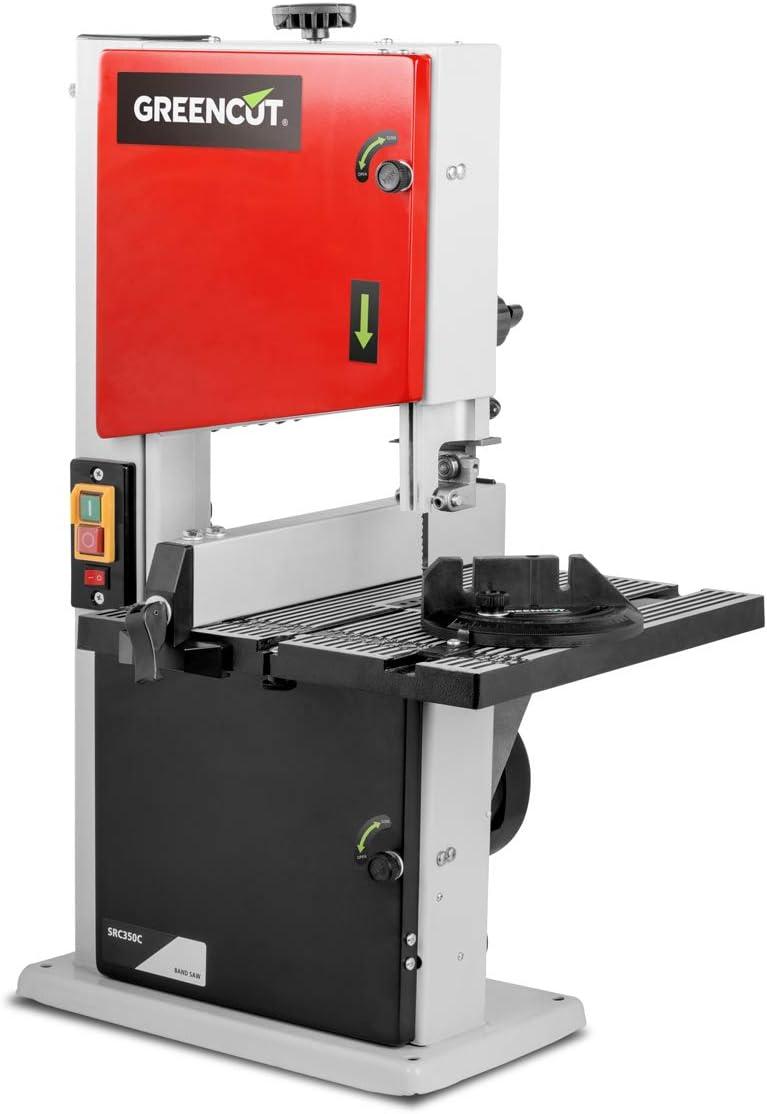 GREENCUT SRC350C - Sierra de cinta de 350W 1400rpm con mesa ...