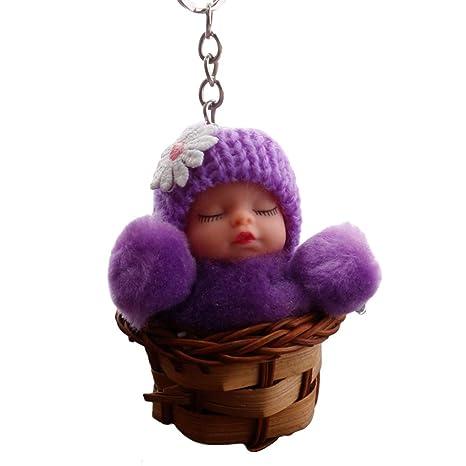 YUnnuopromi - Llavero con Forma de muñeca para Dormir de ...