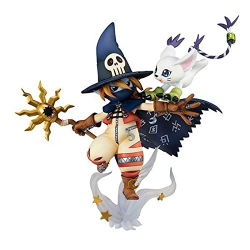 Angewomon Cosplay Costume (Shalleen Anime Adventure Wizarmon & Tailmon Set PVC Figure Toy No Retail Box)